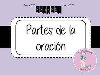 PARTES DE LA ORACION