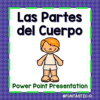 PARTES DEL CUERPO - POWERPOINT PRESENTATION