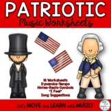 Patriotic Music Printables *Dynamics *Notes *Expression *S
