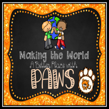 PAWS Character Building Bookmarks - Freebie #KindnessNation