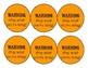 PBIS Behavior Stoplight Cards