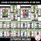 PBIS Monthly Trait Posters and Printables {for teaching Co