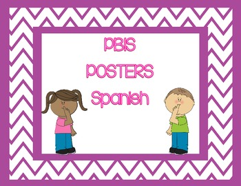 PBIS Posters in Spanish