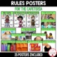 PBIS Rules Posters and Printables {for teaching expectatio