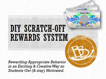 PBIS Scratch-Off Reward System Do It Yourself