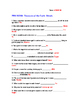 PBS NOVA Treasures of the Earth: Metals Worksheet and Answ