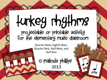 PDF: Five Fat Turkeys & Rhythms for the Kodaly or Orff Classroom