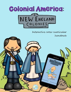 PDF The New England's Colonies Cross-curricular Handouts