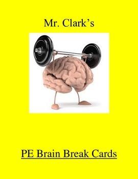 PE Brain Break Cards