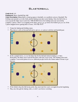 PE Game Sheet: Blastball