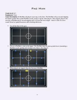 PE Game Sheet: Pacman