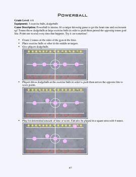PE Game Sheet: Powerball