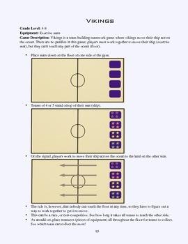 PE Game Sheet: Vikings