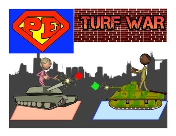"Super PE Game - ""Turf War"""