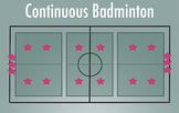 PE Game Video: Continuous Badminton