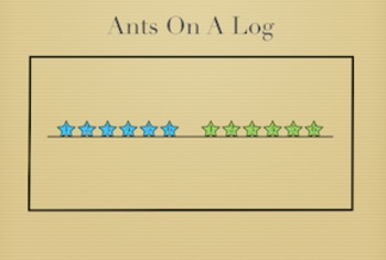 PE Game Video: Ants on a Log