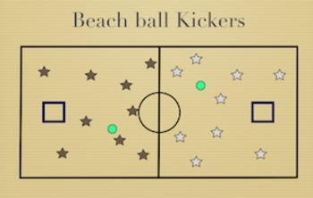 PE Game Video: Beachball Kickers