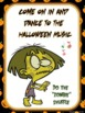PE Halloween Instant Activities- 20 Movement Signs