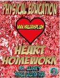 PE Heart Homework