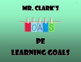 PE Learning Goals