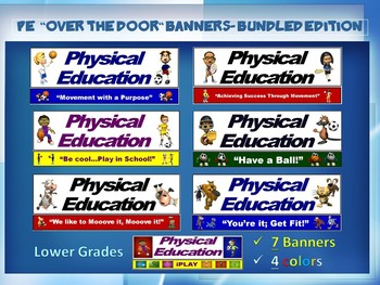 PE Banners (Posters) - Lower Grade; Bundled Edition