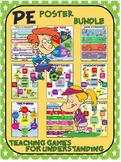 PE Poster Bundle: Teaching Games for Understanding (TGfU)-