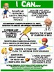 """PE Poster: """"I Can"""" Statements- High School Version;Standar"""