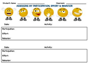 PE Self-Assessment Log (3d)