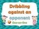 P.E. Task Cards: Dribbling