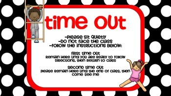 PE Time Out Poster