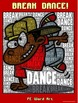 "PE Word Art Poster: ""Break Dance"""
