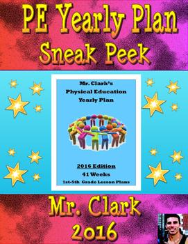 PE Yearly Plan Sneak Peek