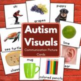 Autism Bundle - Printable Communication Cards (Pack 1)