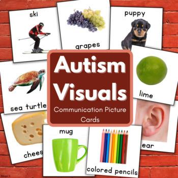Autism Bundle - Printable Communication Cards for Autism,