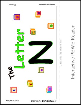 PECS Style Interactive PEWE Reader for the Letter N -  Rea