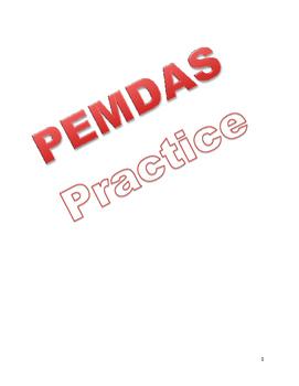 PEMDAS Practice