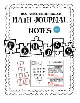 PEMDAS Student Notes