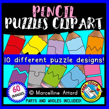 PENCIL PUZZLES CLIP ART: SELF-CORRECTING PUZZLE TEMPLATES: