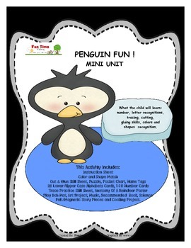 PENGUIN FUN! MINI UNIT