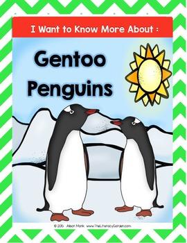 PENGUINS {Gentoo}  An Informational Mini-Book