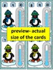 PENGUINS MATH CENTRE ACTIVITY-What's the temperature? Name & Pin