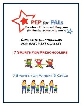 PEP SPORTS CURRICULUM PRESCHOOL PE 14 PROGRAMS 2 AGE GROUPS