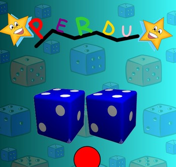 PERDU! Smart Notebook Game to Review Numbers & Probability