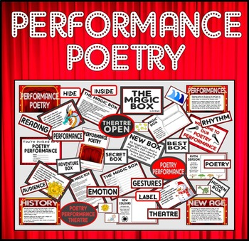 PERFORMANCE POETRY TEACHING RESOURCES KEY STAGE 1-2 THE MA