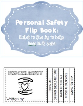 PERSONAL SAFETY FLIP BOOK FOR KIDS