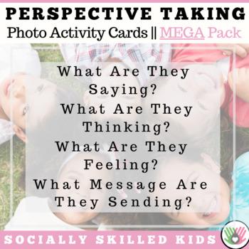PERSPECTIVE TAKING ACTIVITY ~ Photo Cards MEGA BUNDLE  {Se