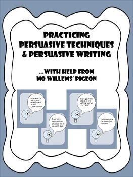 PERSUASIVE TECHNIQUES AND PERSUASIVE WRITING WITH MO WILLE