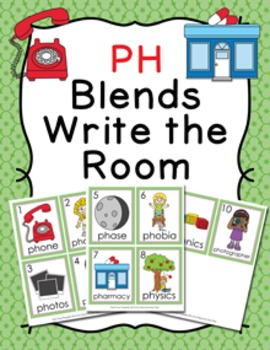 PH Blends Write the Room Activity