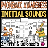 PHONEMIC AWARENESS BEGINNING SOUNDS SET