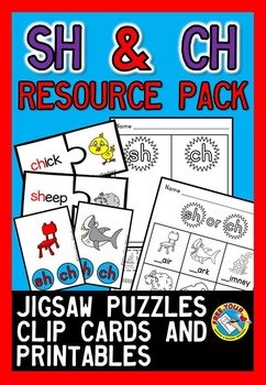 DIGRAPHS ACTIVITIES: SH AND CH DIGRAPHS PRINTABLES + DIGRA